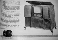 Extract from brochure announcing fitting TV to customers cabinet [36K]