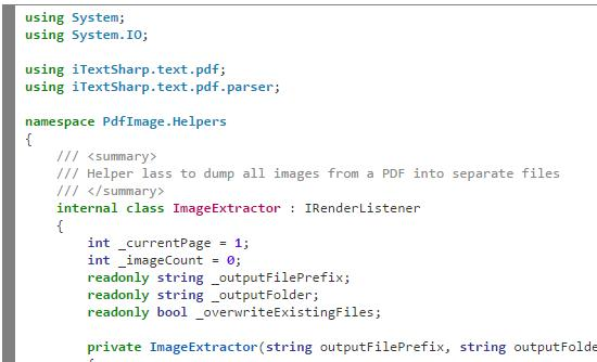 Same C# code but using hilite.me