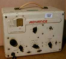 Link to page about the Advance E2 signal generator [6K]